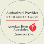 American Heart Association Authorized Provider of CPR and ECC Courses
